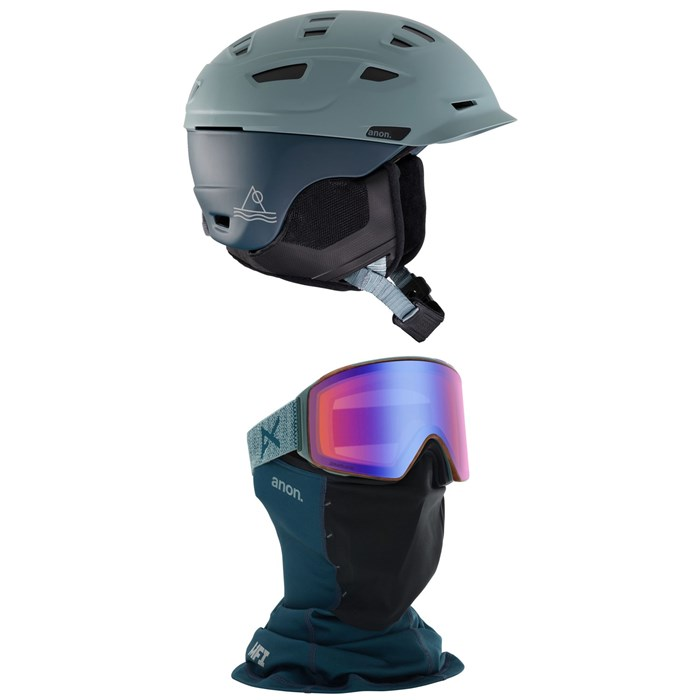 Anon - Prime MIPS Helmet + Anon M4 Cylindrical MFI Goggles