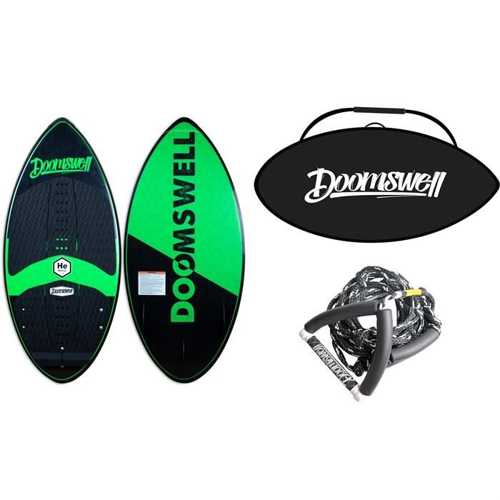 Doomswell - Helio Wakesurf Board + Helio Bag + Surf Rope - Kids' 2020