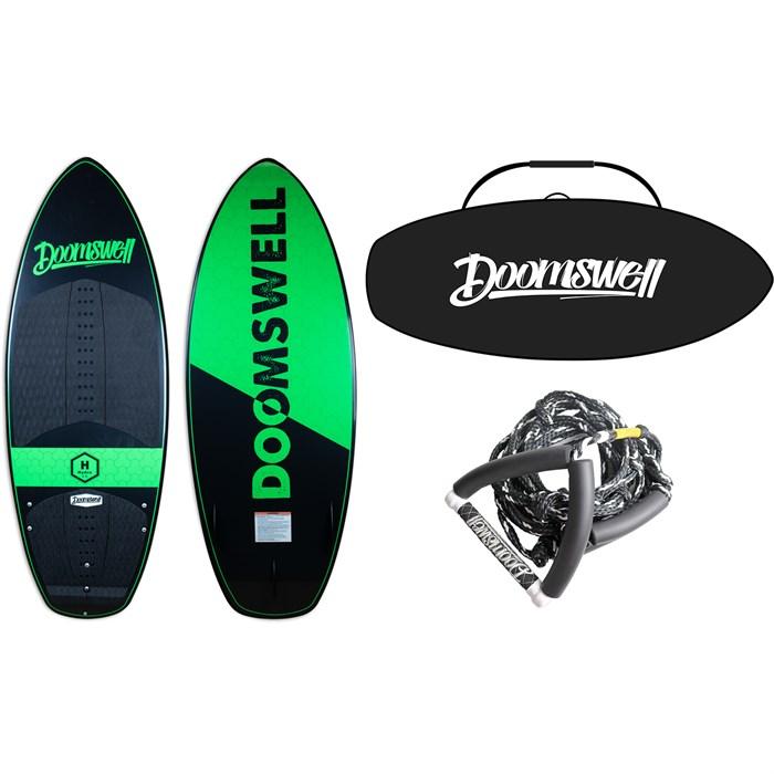 Doomswell - Hydro Wakesurf Board + Hydro Bag + Surf Rope 2020