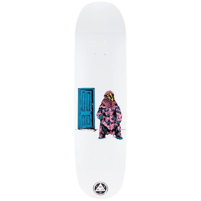 Welcome - Go Darker on Moontrimmer 2.0 8.5 Skateboard Deck