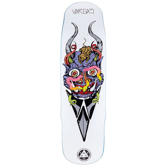Welcome - Maligno on Effigy 8.8 Skateboard Deck