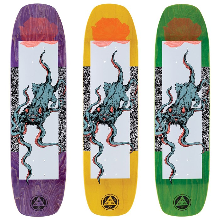 Welcome - Bactocat on Wormtail 8.4 Skateboard Deck