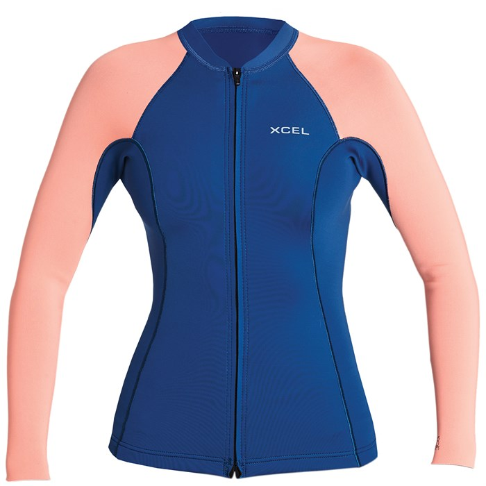 XCEL - Axis 1.5/1 Long Sleeve Front Zip Wetsuit Jacket - Women's