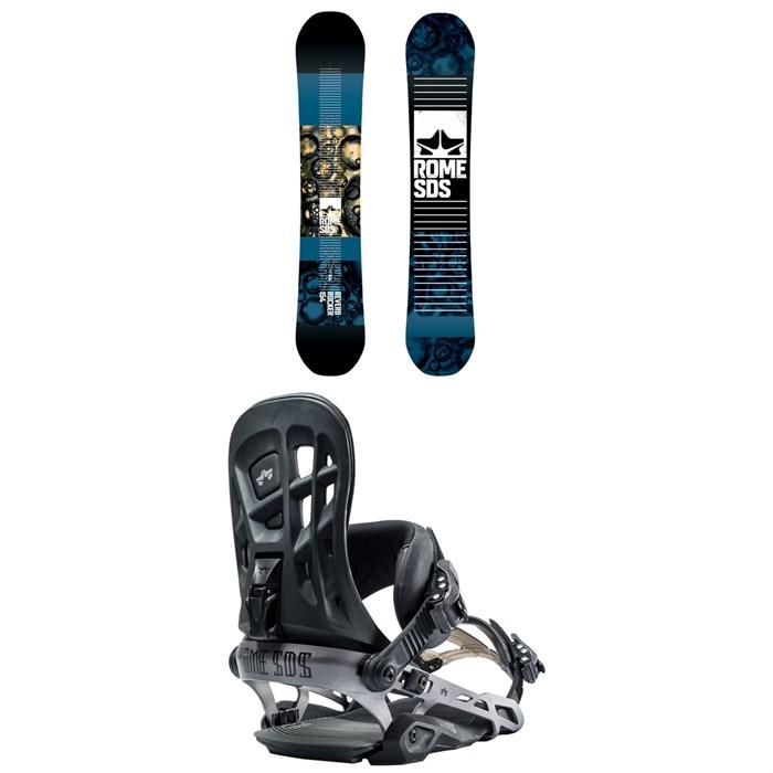 Rome - Reverb Rocker SE Snowboard + Rome 390 Boss Snowboard Bindings 2019