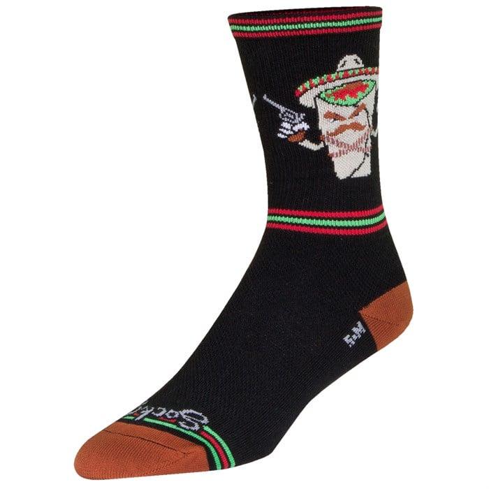 "SockGuy - Bandito 6"" Crew Bike Socks"