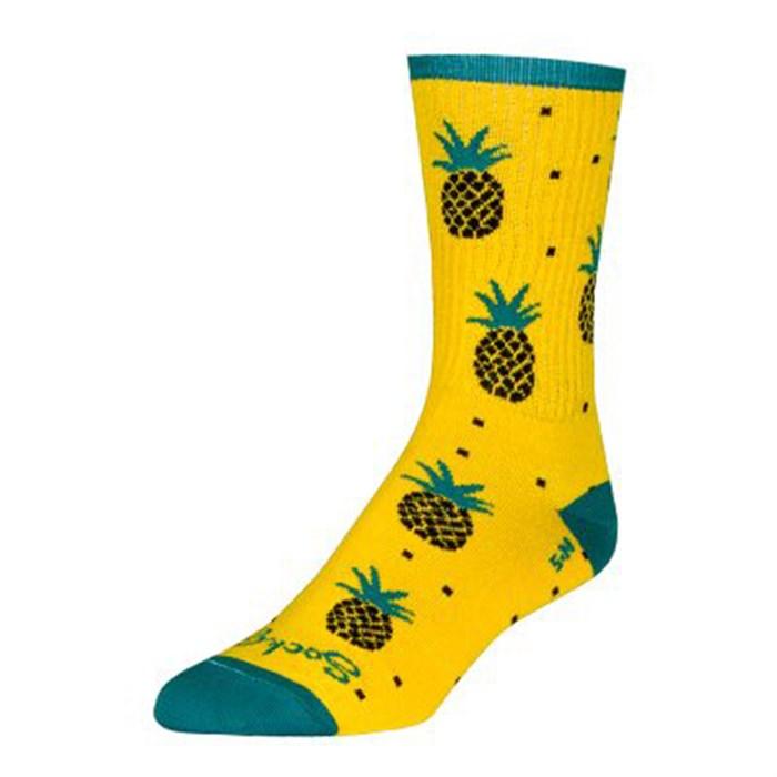 SockGuy - Pineapple Crew Socks