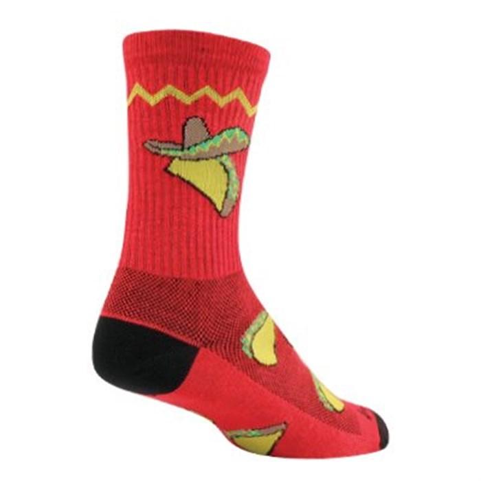 "SockGuy - Taco Tuesday 6"" Crew Socks"