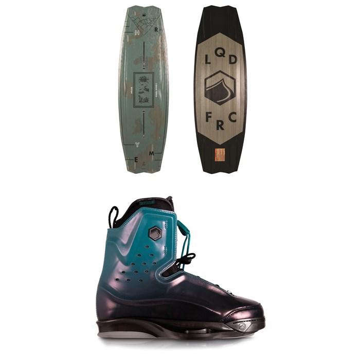 Liquid Force - Rhyme + Riot 6X Wakeboard Package 2020