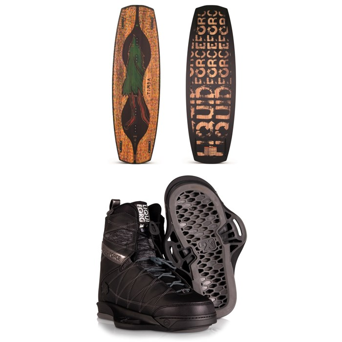 Liquid Force - Timba + Classic 6X Wakeboard Package 2020