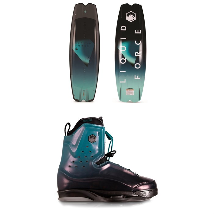 Liquid Force - Remedy + Riot 6X Wakeboard Package 2020