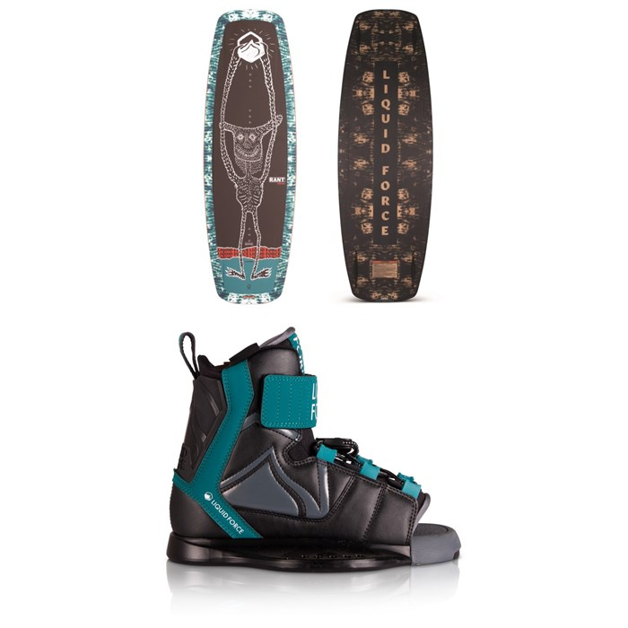 Liquid Force - Rant Wakeboard Package - Boys' 2020