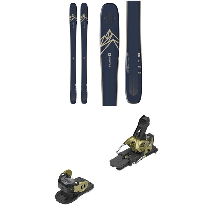 Salomon - QST 99 Skis + Warden MNC 13 Ski Bindings 2020