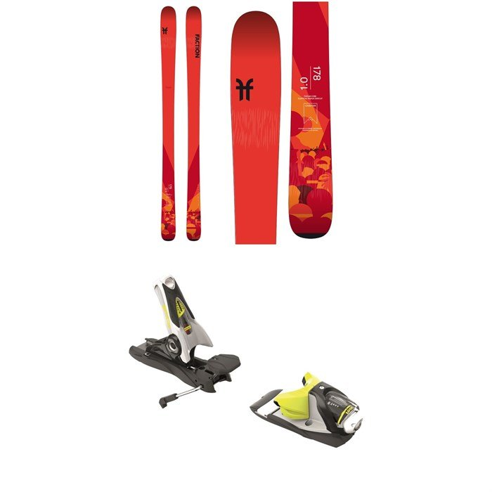 Faction - Chapter 1.0 Skis 2020 + Look SPX 12 Dual Bindings 2019