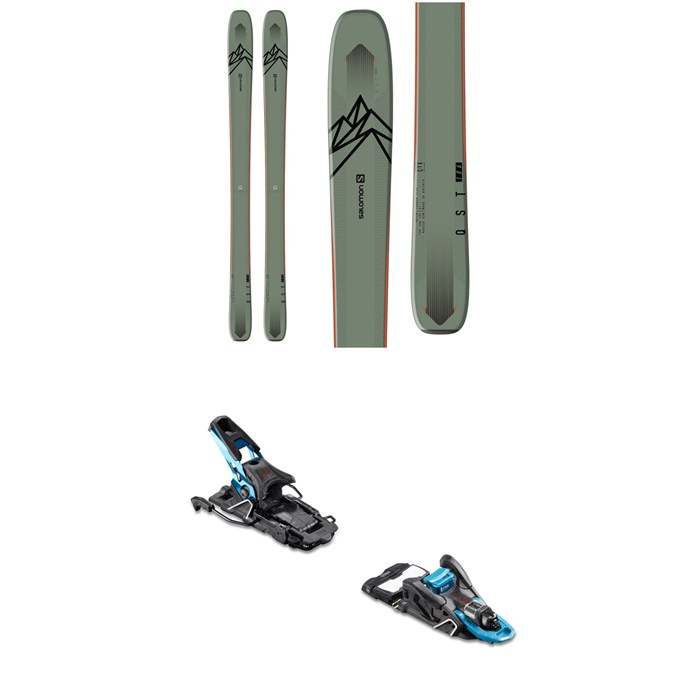Salomon - QST 106 Skis 2020 + Salomon S/Lab Shift MNC Alpine Touring Ski Bindings 2020