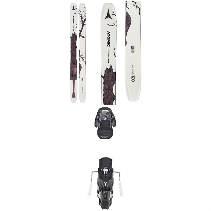 Atomic - Bent Chetler 120 Skis + Warden MNC 13 Bindings 2020