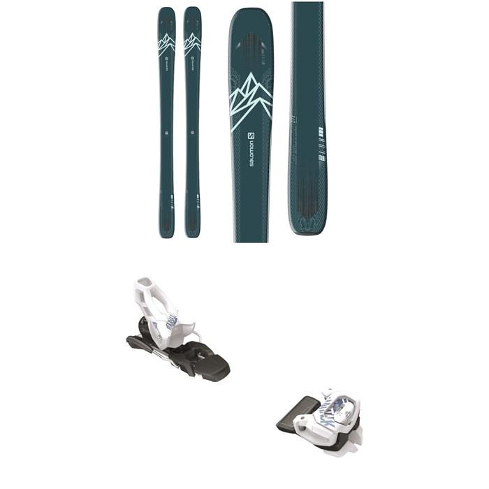 Salomon - QST Lux 92 Skis - Women's + Tyrolia Attack² 11 GW Ski Bindings 2020