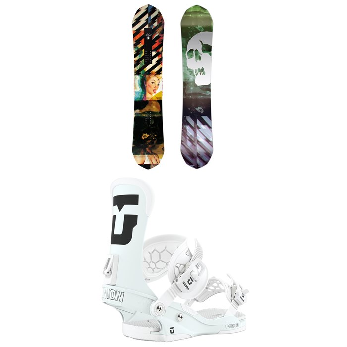 CAPiTA - Ultrafear Snowboard + Union Force Snowboard Bindings 2020