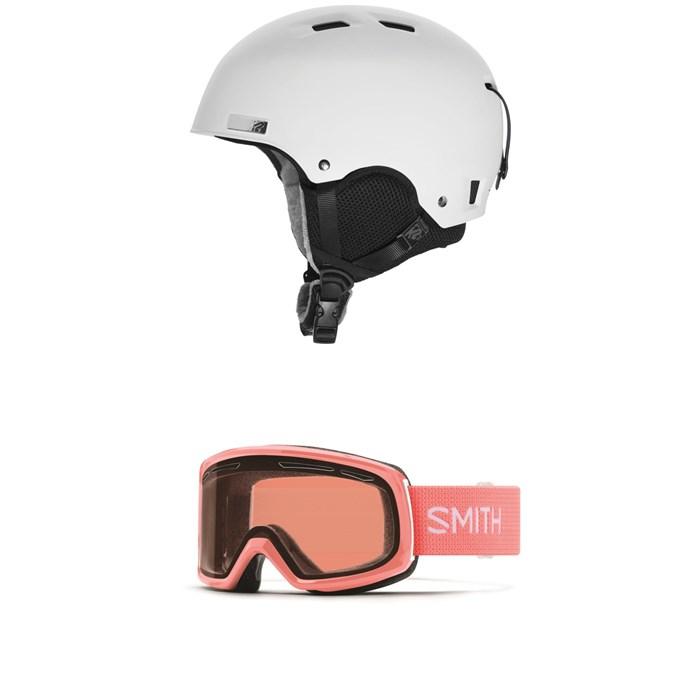 K2 - Verdict Helmet + Smith Drift Goggles - Women's