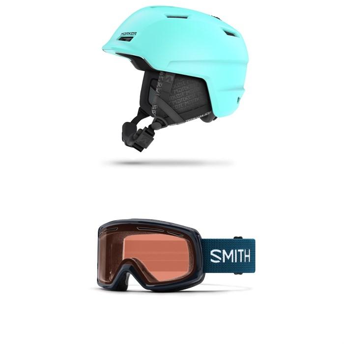 Marker - Consort 2.0 Helmet - Women's + Smith Drift Goggles - Women's