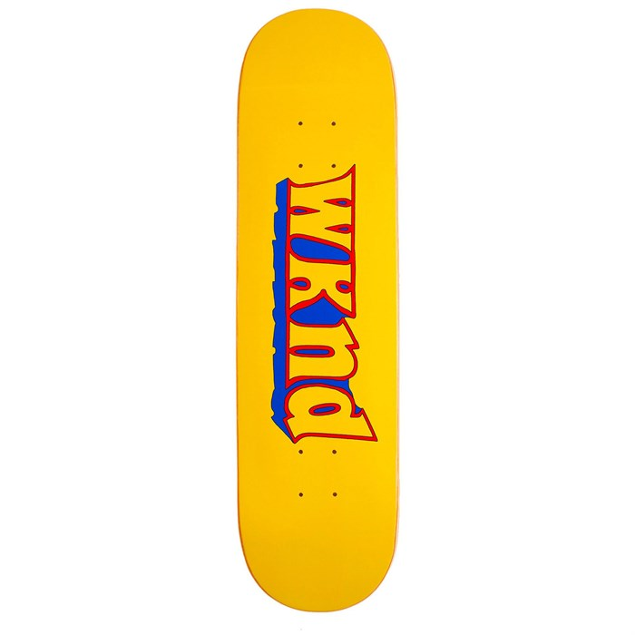WKND - Good Times Yellow 7.75 Skateboard Deck