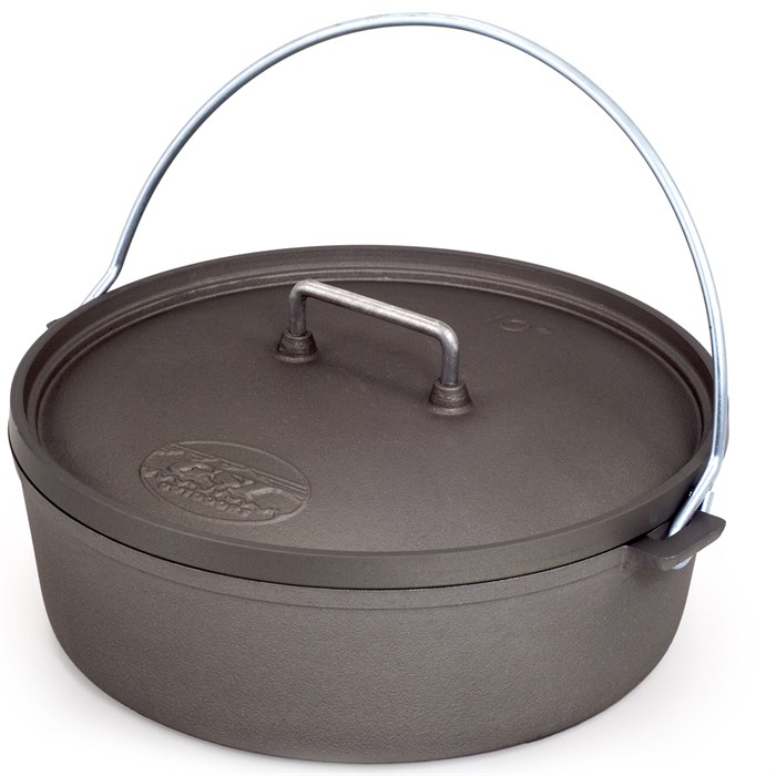 """GSI Outdoors - Hard Anodized 10"""" Dutch Oven"""