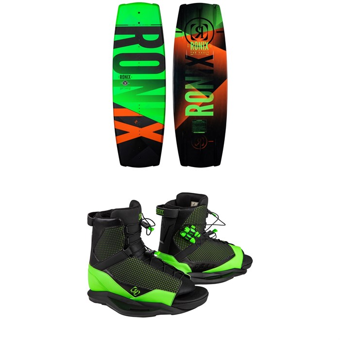 Ronix - Vault + District Wakeboard Package - Kids' 2021