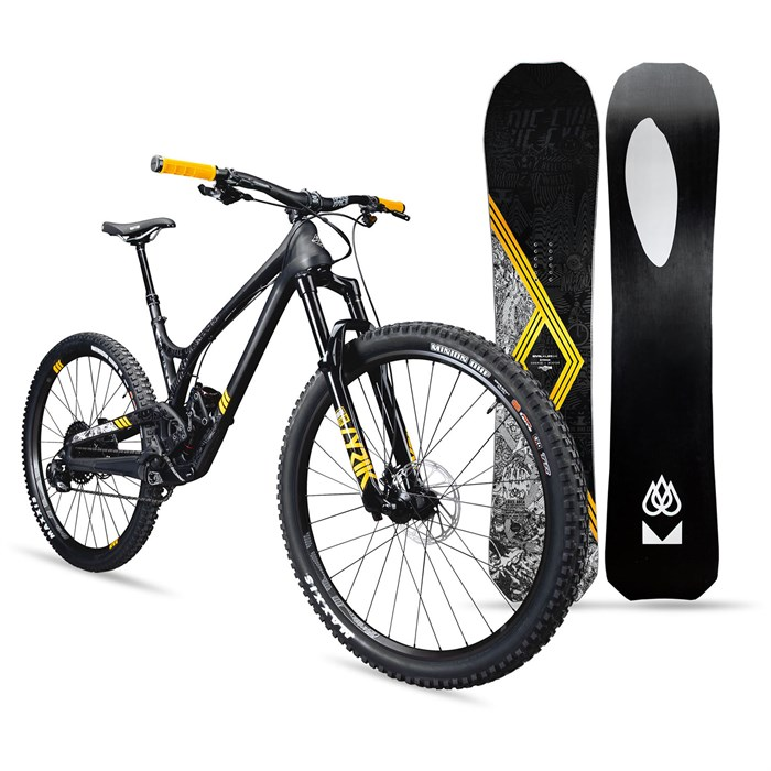 Evil - x Lib Tech T.Rice Offering X01 Eagle Complete Mountain Bike 2019