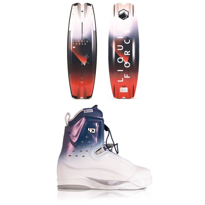 Liquid Force - Remedy Aero + Riot 4D Wakeboard Package 2020