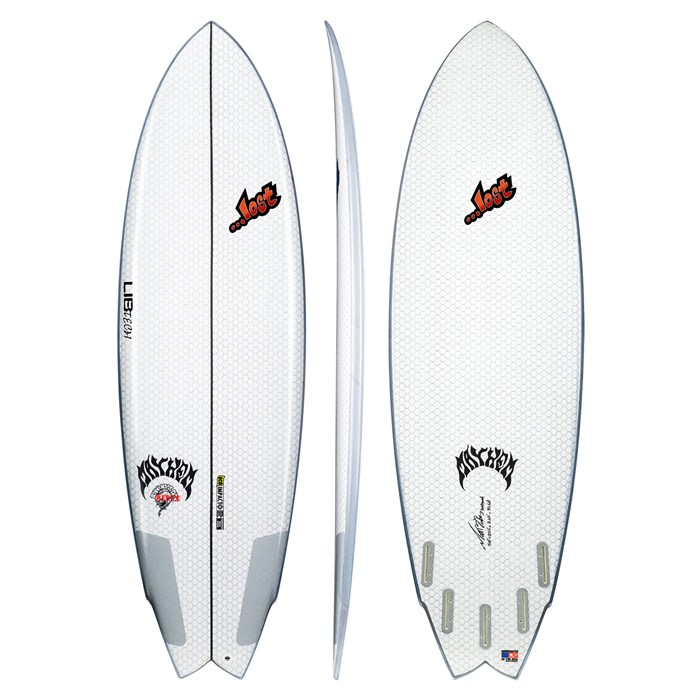 Lib Tech - x Lost Round Nose Fish Surfboard