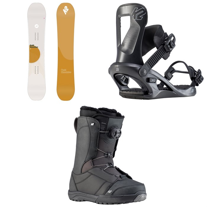 K2 - Cold Shoulder Snowboard + Bedford Snowboard Bindings + Haven Snowboard Boots - Women's 2020