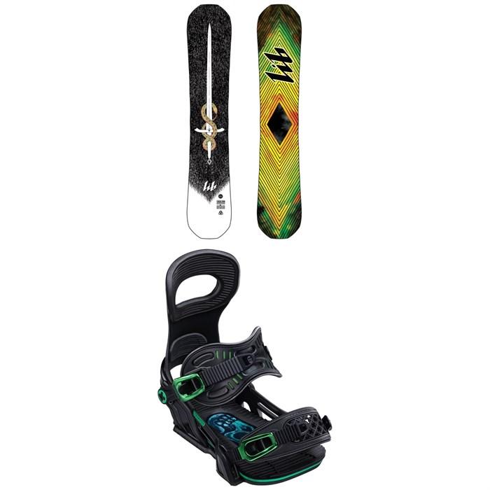 Lib Tech - T.Rice Pro HP C2 Snowboard + Bent Metal Transfer Snowboard Bindings 2020