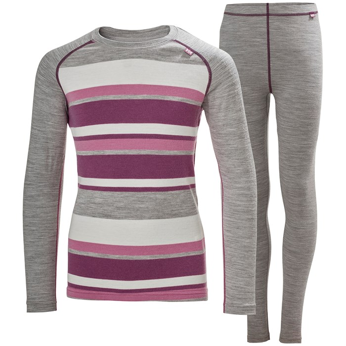 Helly Hansen - HH Merino Mid Baselayer Set - Kids'