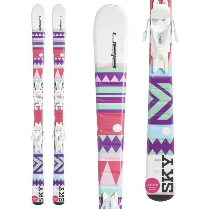 Elan - Sky QS Skis + EL 7.5 Bindings - Girls' 2019