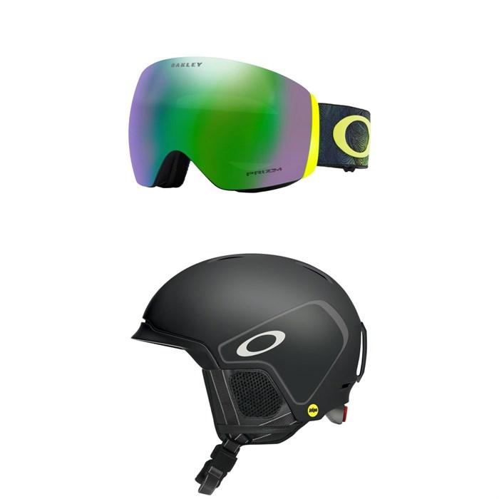 Oakley - Flight Deck Goggles + Oakley MOD 3 MIPS Helmet