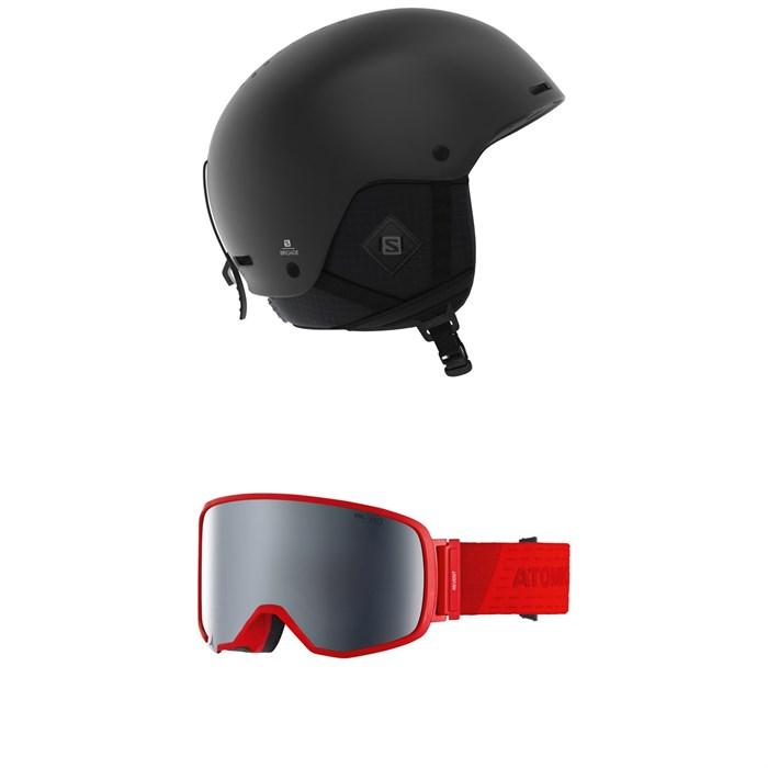 Salomon - Brigade+ Helmet + Atomic Revent L FDL HD Goggles