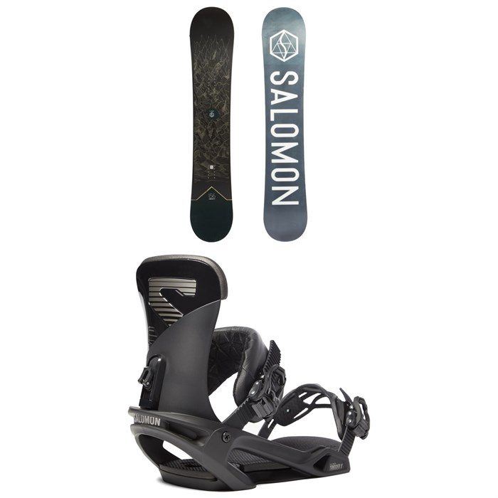 Salomon - Sight X Snowboard + Trigger X Snowboard Bindings 2020