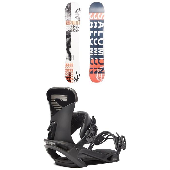 Salomon - Sleepwalker X Snowboard + Trigger X Snowboard Bindings 2020