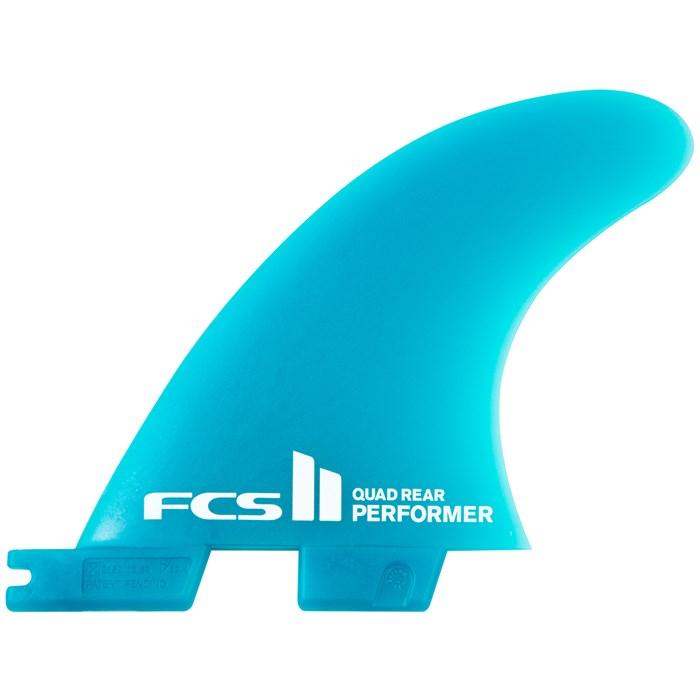 FCS - II Performer Neo Glass Medium Tri-Quad Fin Set