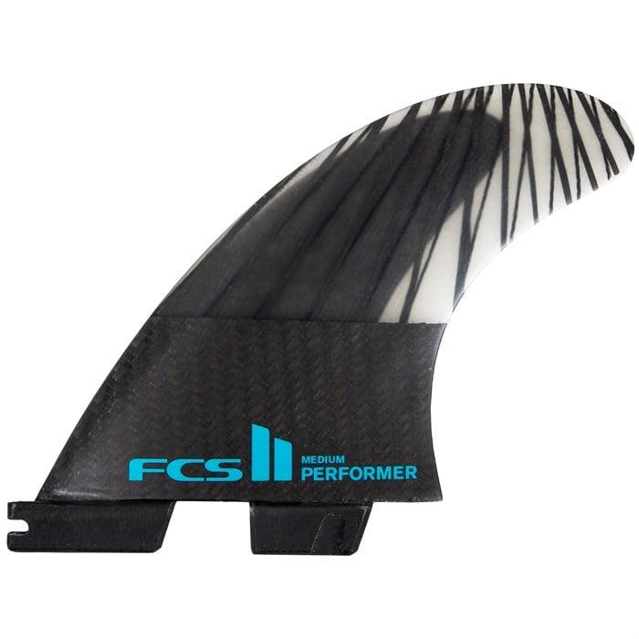 FCS - II Performer PC Carbon Medium Tri Fin Set