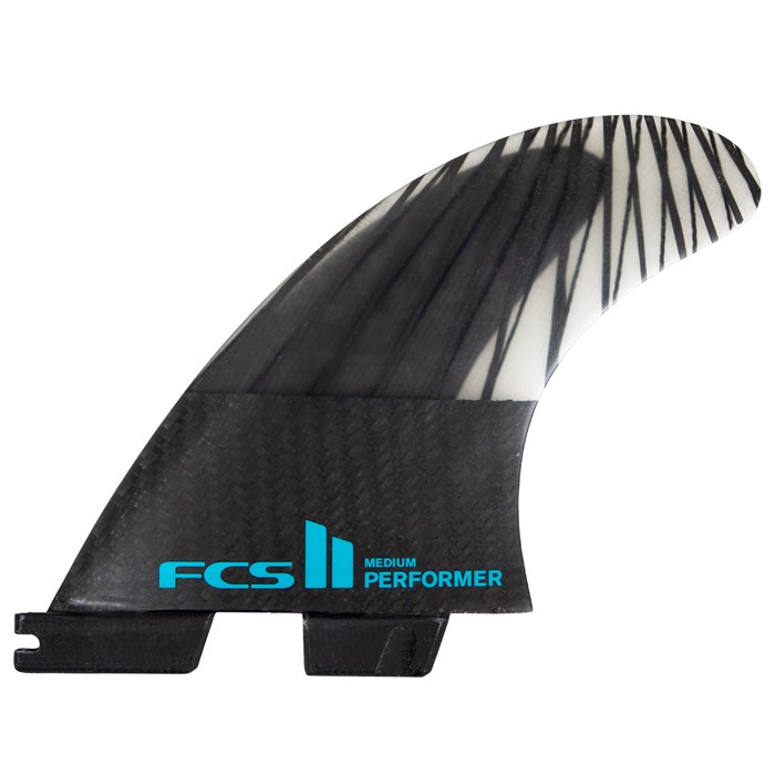 FCS - II Performer PC Carbon Large Tri Fin Set