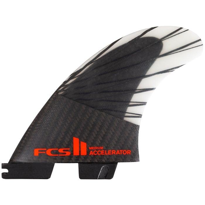 FCS - II Accelerator PC Carbon Medium Tri Fin Set