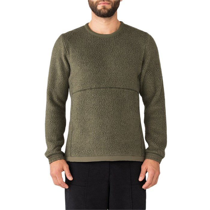 Holden - Shearling Crew Sweater