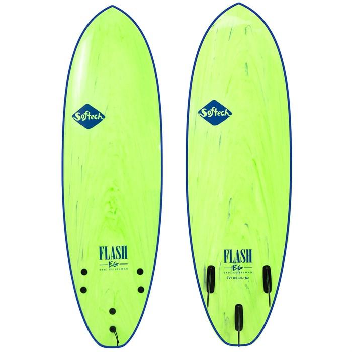 "Softech - Flash Eric Geiselman FCS II 5'7"" Surfboard"