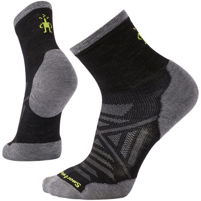 Smartwool - PhD® Run Cold Weather Mid Crew Socks