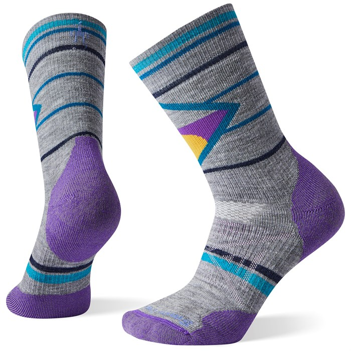 Smartwool - PhD® Outdoor Medium Pattern Crew Socks - Women's