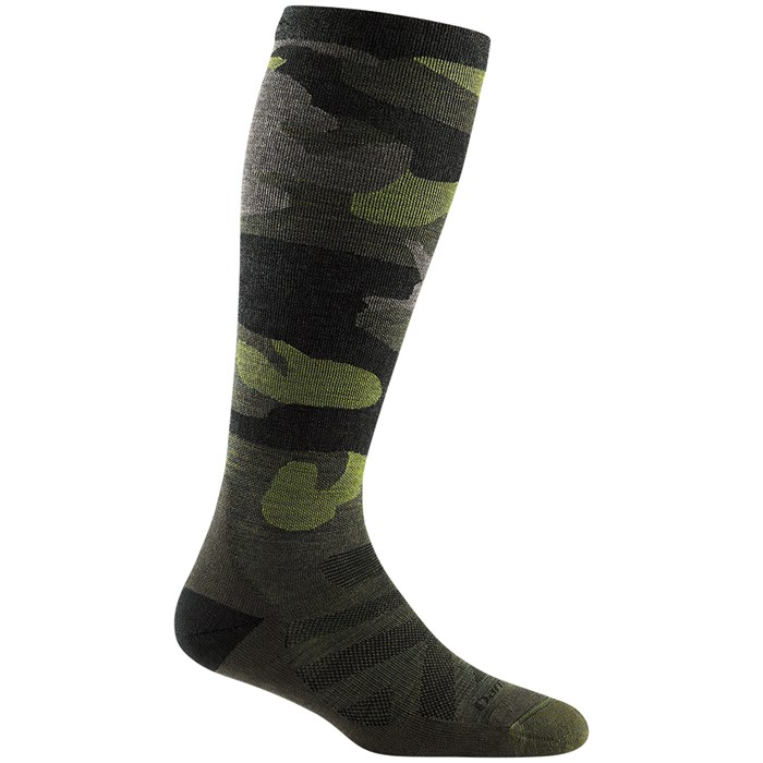 Darn Tough - Camo Over-the-Calf Cushion Socks - Women's