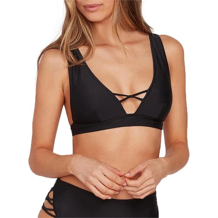 Volcom - Simply Solid Halter Bikini Top - Women's
