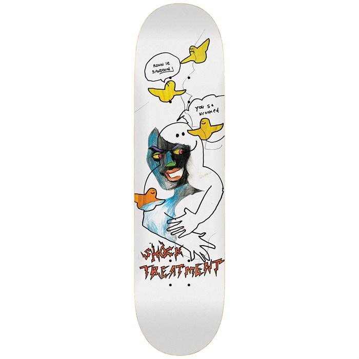 Krooked - Sandoval Shock Treatment 8.25 Skateboard Deck