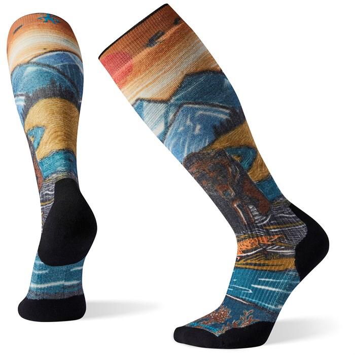 Smartwool - PhD Snow Light Elite Print Socks