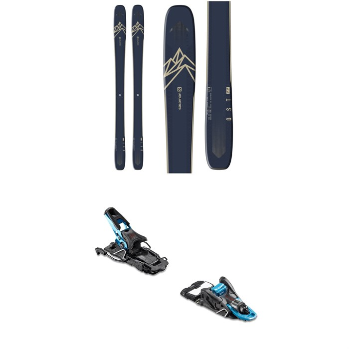 Salomon - QST 99 Skis + Salomon S/Lab Shift Alpine Touring Ski Bindings 2020